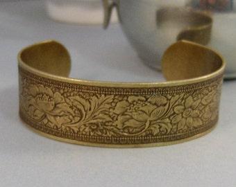Nora,Bracelet,Cuff,Brass Bracelet,Cuff Bracelet,Bracelet,Brass,Antique Bracelet,Wedding,Bride.Handmade Jewelry by valleygirldesigns.