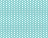Ark Dot Aqua Fabric from the Little Ark Collection by Carina Gardner for Riley Blake