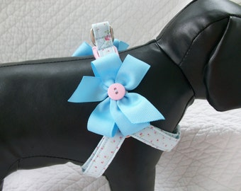 Step In Harness with Removable Bows Custom Made