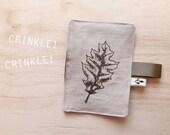 leaf CRINKLE toy . by Lund Studios