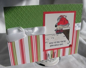 Funny Christmas Card You Must Have Been Really Bad