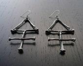 The Alchemist Earrings: Sulphur