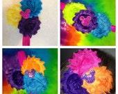 Made to Match YOUR Tie Dye Order Custom Headband