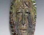 African Raku Mask number 12