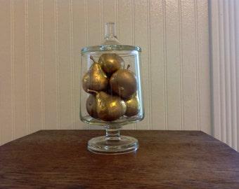 Vintage Pedestal Apothecary Jar