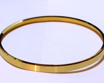 25 -  4 in. Solid Brass Clock Bezels - Ring- Beveled - Diamond Skived
