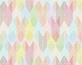 Blend Fabric's, Geofabulous by Maude Ashbury, Fret (White) 1 yard