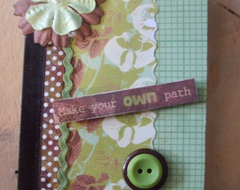 Make your own Path Altered Mini Composition Book