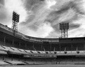 Tiger Stadium Baseball Print