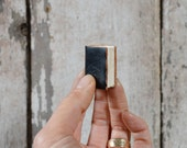 Miniature Black Artist Book by Peg and Awl