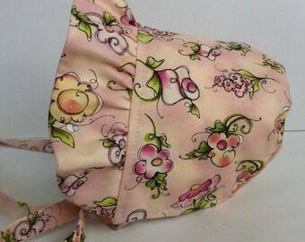Baby Bonnet, Sun Hat, Toddler Bonnet, Easter Bonnet, Sun Bonnet, Pioneer Bonnet