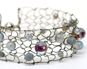 moonstone bracelet labradorite bracelet beaded bracelets delicate bracelet skinny cuff bracelet handmade jewelry gift for women
