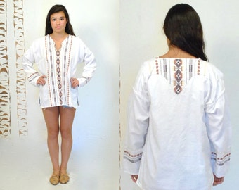Ethnic Shirt  //  Guatemalen Top //  THE REGGAE