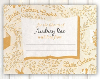 Little Golden Book Bookplates