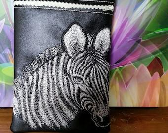 Zebra Nintendo DS case