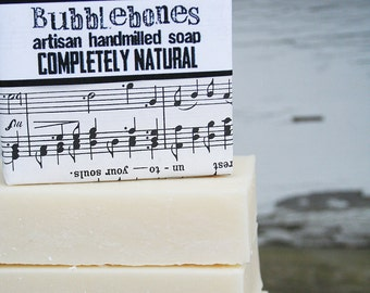 Completely Natural Soap - NO SCENT - Mango Butter - Kaolin Clay 5oz