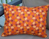 Fall Leaves Pillow Cover, Decorative Toss Pillow, Accent Pillow, Throw Pillow, Pillowcase, Acorn, Elm, Oak, Maple Leaf- Fits 12x16 inch form