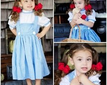 Wizard of Oz WeHaveCostumes New Modest Quality Homemade Halloween Costume - Deluxe Dorothy- Adult Sizes