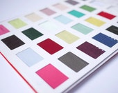 Fabric Swatches - choose up to 4 colors