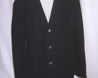 Armani Black Sports Jacket Mens Sport Coat Designer Clothing Vintage Jacket Mens Vintage Clothing