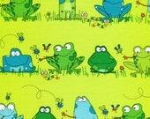Leap Frog Town - Kanvas Studio - Fat Quarter