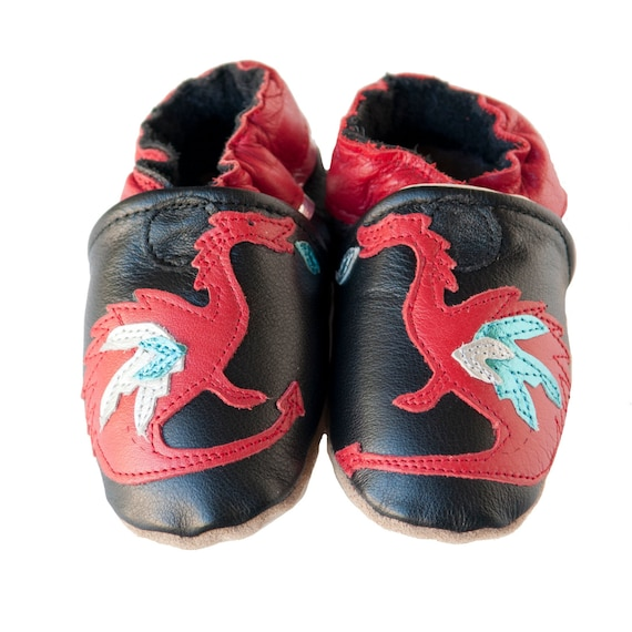 Dragon Days (baby shoes in all-leather)