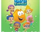 BUBBLE GUPPIES  Edible Image Topper for Cake, Sugar Cookies, Cupcakes