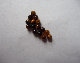 SALE!! Bead, Tigereye, Gemstone, Natural, 3mm, Round, B grade, Mohs hardness 7, Pkg Of 24 SALE!!
