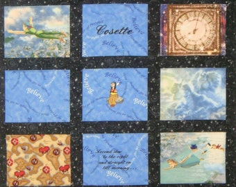 Peter Pan Baby Quilt Personalized With Baby S By Nefsewsuite
