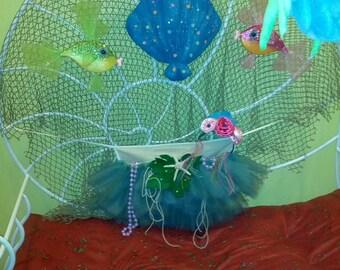 Mermaid Princess Tutu Apron Dress Up Costume