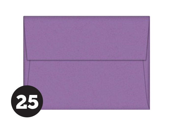 a7 purple envelopes for 5 x 7 invitations photos and cards