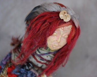 Ainte - Spirit Doll - Dream Doll - Art Doll - Assemblage Doll - Mixed Media Doll