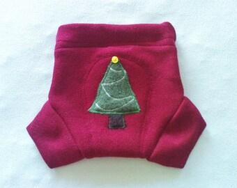 MEDIUM Christmas Wool Soaker