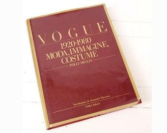Vogue Fashion 1920-1980 Vintage Book