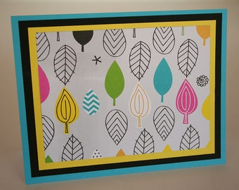 Funky Leaves Stationery (4)