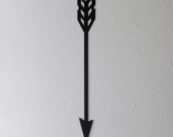 Arrow / Metal Art / Wall Hanging / Home Decor / Native american / indian / wall decor / archery / arrowhead