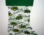 Personalized John Deere stocking