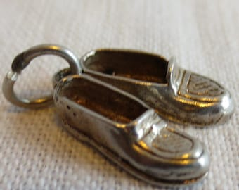 PENNY LOAFER SHOES  Sterling Silver Charm or Pendant