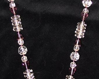 Vintage Mid Century Lucite Choker Necklace