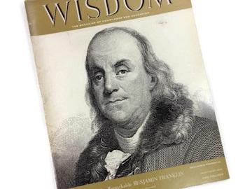 Benjamin Franklin, Wisdom Magazine, March 1958