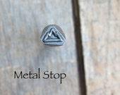Mountain - Metal Design Stamp great stamping supplies