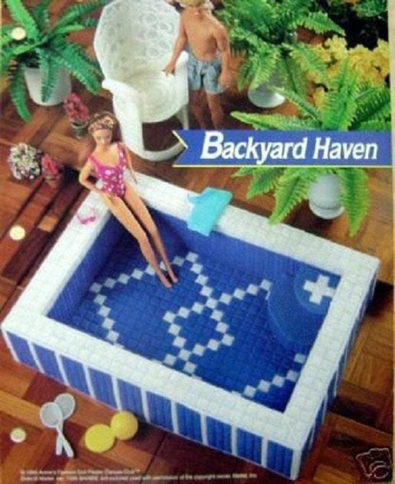 Items Similar To Rare Fashion Barbie Kelly Doll Swimming