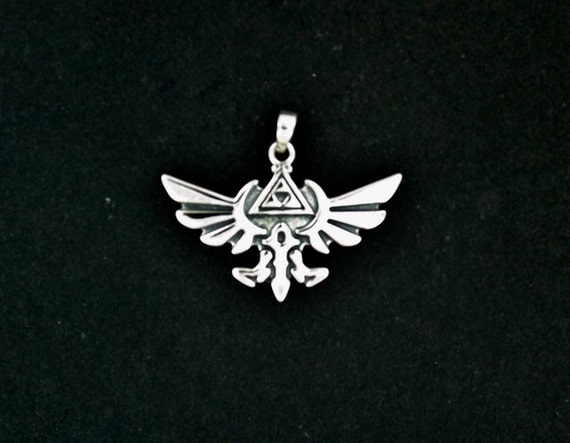 Handmade Legend of Zelda Pendant in Gold Made to Order