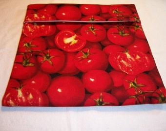 Handmade  Microwave Baked Potato Bag,Tomatoes,Microwave Potato Bag,Baked Potato,Kitchen,Dining,Serving,Gifts