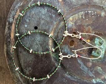 Emerald Bindhu...The Earrings