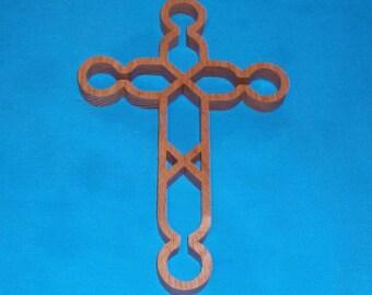 Wooden Wall Cross C13
