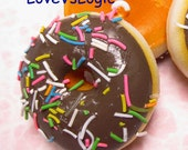 1 XHuge Chunky Donut Soft Plastic Pendant. 15