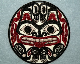"""Totem Grizzly Bear Iron on Patch 4"""""""
