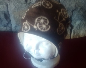 Super Soft Fleece Bicycle Hat for Baby