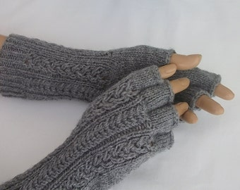 Half Finger Gloves-Gray Gloves